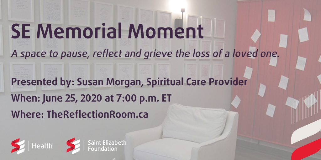 Memorial Moment June 25, 2020, 7 pm ET